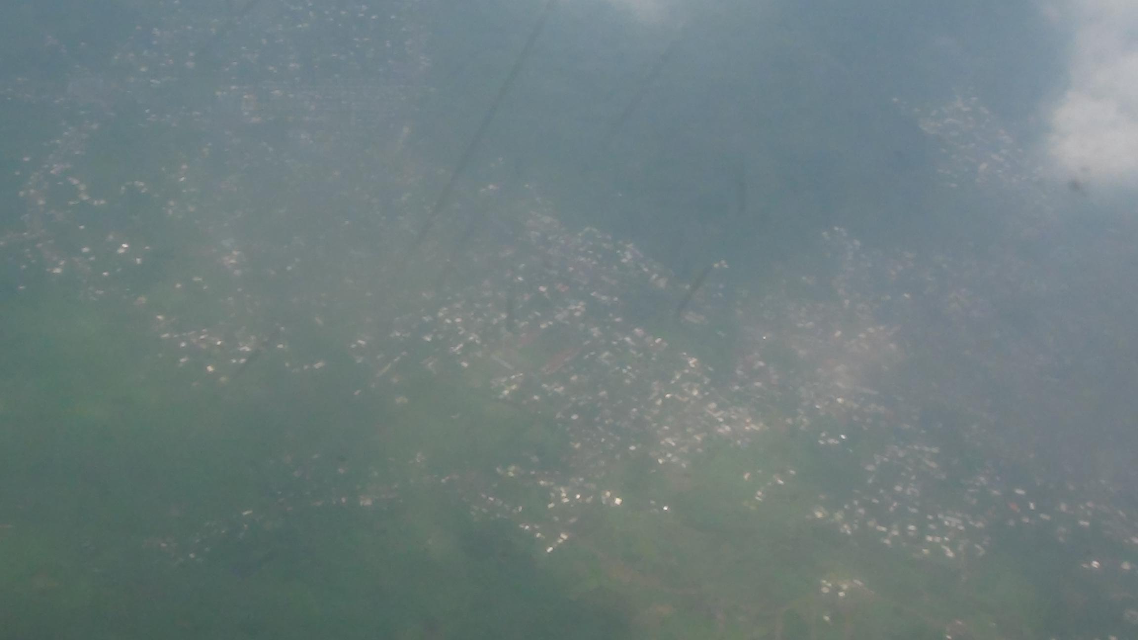 Images aériennes de la région de l'Est de la RDC