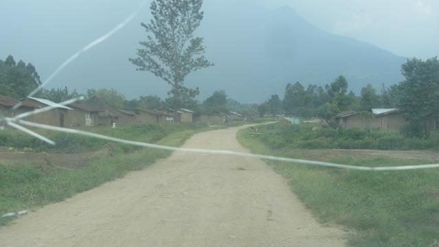 Entrée de la cité de Mutwanga