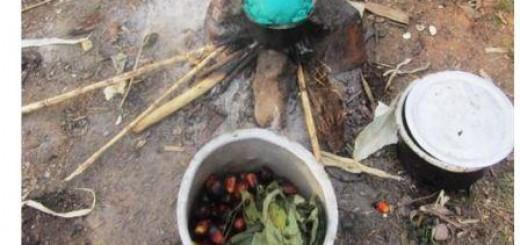 Cuisine des déplacés de guerre à Oicha