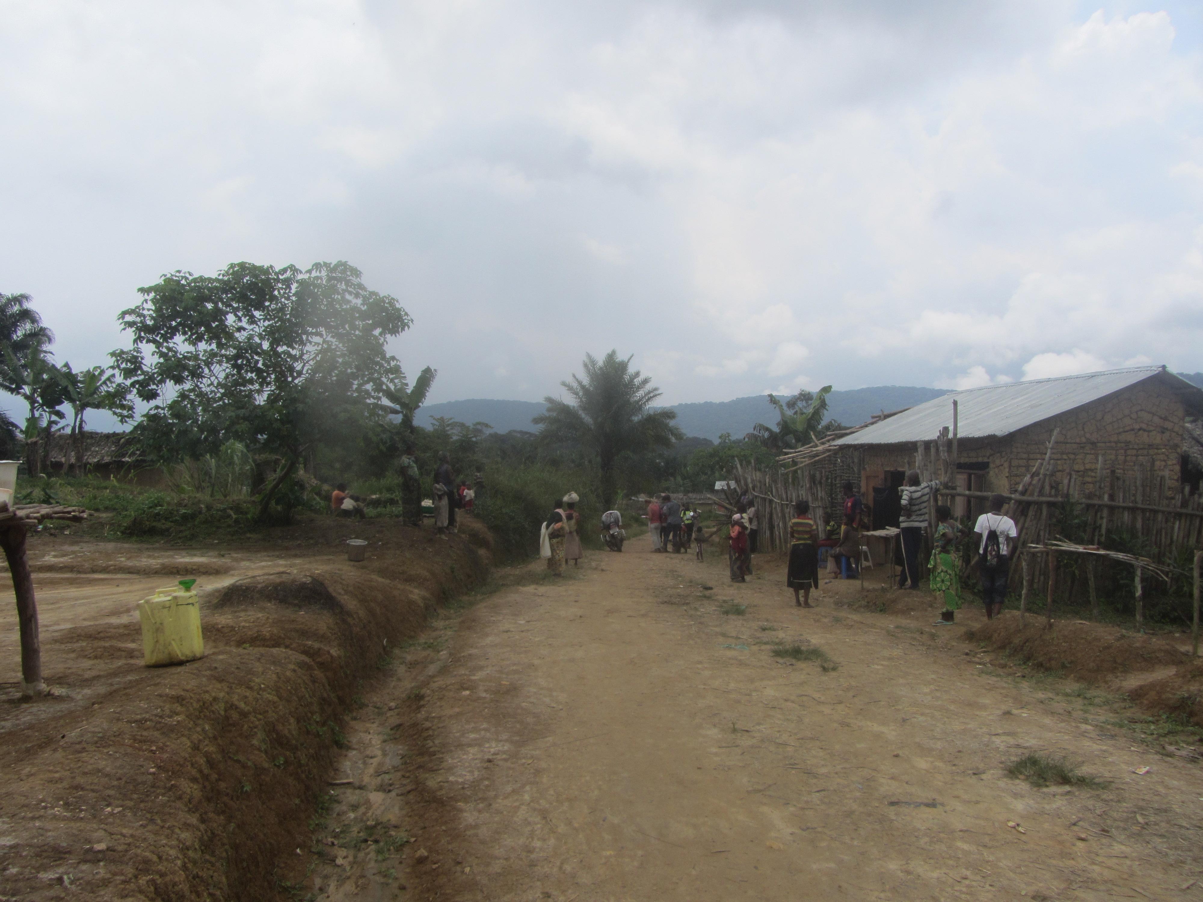 Dans un village du Territoire de Lubero