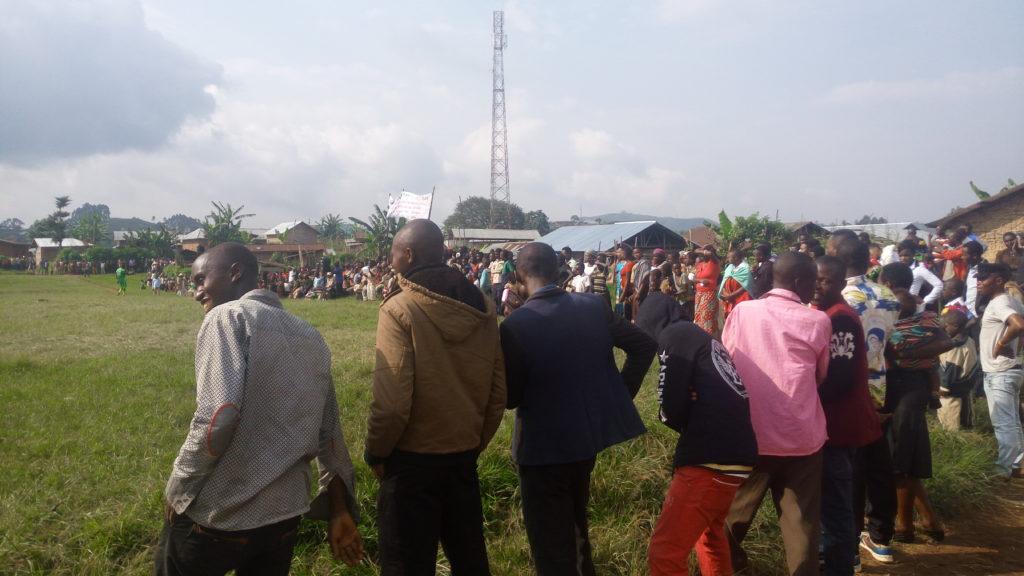 Spectateurs match protection kimbulu