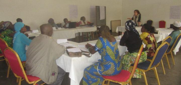 Photo d'une formation des sensibilisateurs. Photo GADHOP