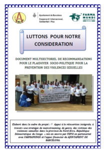 Photo couverture du doc des recommandations.
